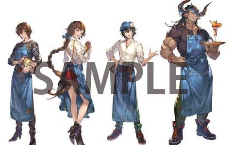 「グランブルーファンタジー」×TOWER RECORDS CAFEコラボが開催決定!