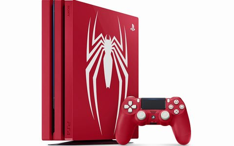 「PS4 Pro Marvel's Spider-Man Limited Edition」が9月7日より数量限定で発売!