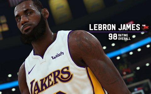 「NBA 2K19」最新ゲーム内画像が公開!気になるスター選手のレーティングも発表