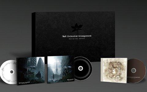 「NieR Orchestra Arrangement Album」3商品のジャケット画像が公開!