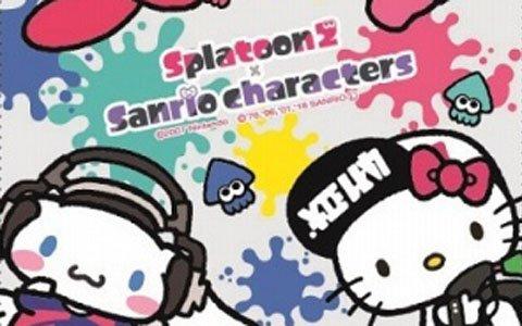 キデイランド11店舗で「スプラトゥーン2×サンリオキャラクターズ」フェアが開催!
