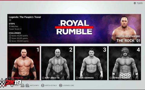 「WWE 2K19」独自のテーマと様々な条件下でスーパースターたちと連戦する新機能「Towers」の詳細が公開!