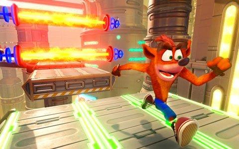 PS4「クラッシュ・バンディクー ブッとび3段もり!」が本日発売!新ステージ「きんみらいステージ」も紹介