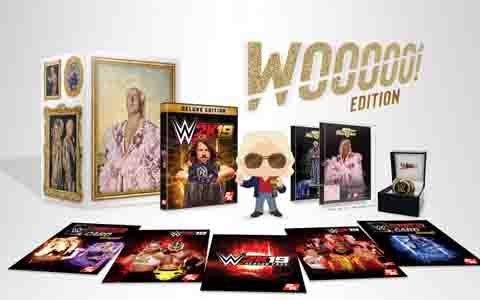 「WWE 2K19」PS4パッケージ版の予約受付が全国のゲオショップにて開始!
