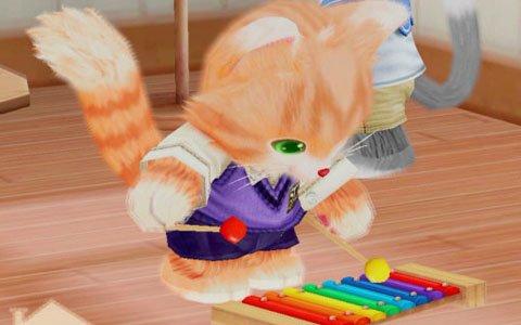 Switch/3DS「ネコ・トモ」には家に関するアイテムが多数登場!ネコの遊び道具や部屋、メイクアップも紹介