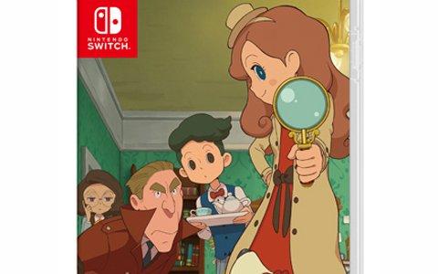 Nintendo Switch「レイトン ミステリージャーニー カトリーエイルと大富豪の陰謀 DX」本日発売!
