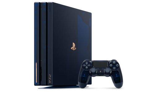 PS4 Proの特別デザインモデル「PlayStation4 Pro 500 Million Limited Edition」が8月24日に発売