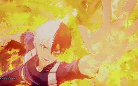 「僕のヒーローアカデミア One's Justice」キャラクター切り替わりCM「轟焦凍編」が公開