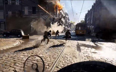 「バトルフィールド 5」Gamescomトレーラー「Devastation of Rotterdam」が公開!