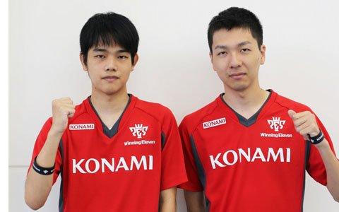 「KONAMI ウイニングイレブン eスポーツアンバサダー」に杉村直紀選手と相原翼選手が就任!