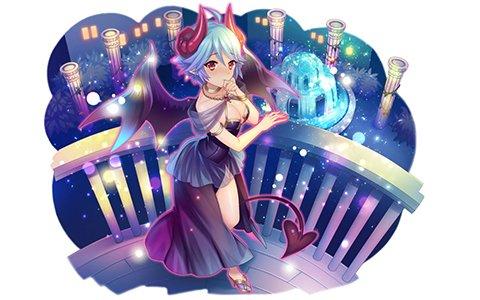 「モン娘☆は~れむ」ドレス姿のリネアなどが登場する「3周年記念限定ガチャ第二弾」が開催!