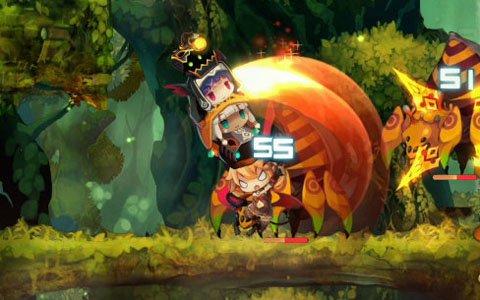 """""""DANGO""""になったパーティで戦う異色の2Dアクション「ラピス・リ・アビス」がPS4/Switchで11月29日に発売"""