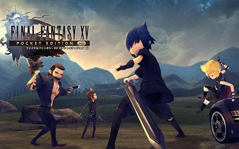 PS4/Xbox One「ファイナルファンタジーXV ポケットエディション HD」が配信開始!