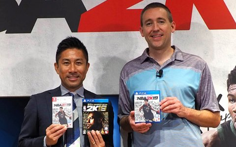 前園真聖さんがアンバサダーに就任!NBAゲーム「NBA 2K19」発売記念イベントをレポート