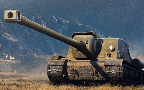 PC版「World of Tanks」初のソ連製 Tier VIII プレミアム駆逐戦車「ISU-130」が実装!