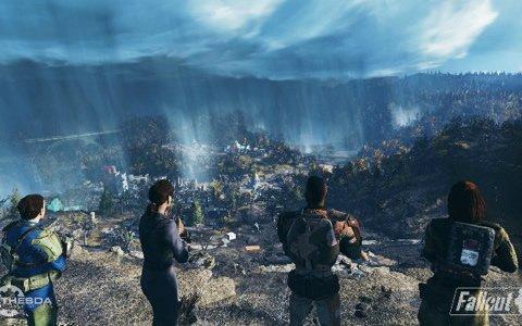 「Fallout 76」の国内発売日が11月15日に決定!イメージキャラクターに野性爆弾が就任