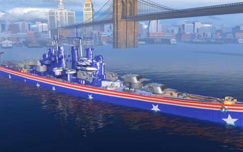 「World of Warships」にて「アズールレーン」コラボレーション迷彩が発売!