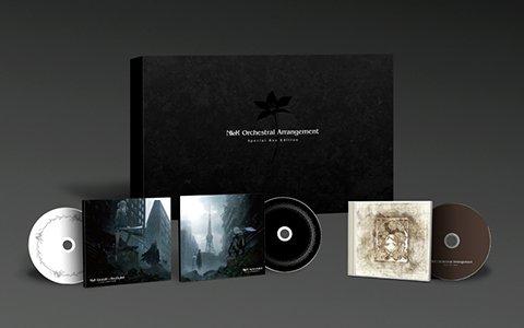 「NieR」シリーズのオーケストラアレンジCD3作品が本日発売!