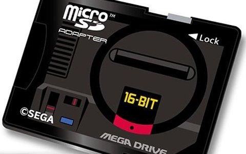 メガドライブ30周年&ドリームキャスト20周年記念!ハードをモチーフにしたmicroSDHCカードセットが発売