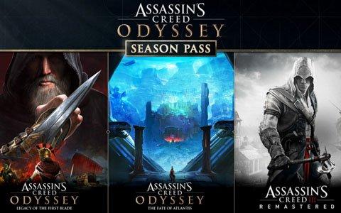 「アサシン クリード オデッセイ」シーズンパスの内容を含む発売後の施策が公開!