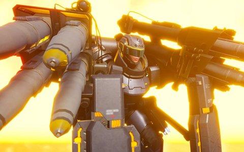 「EARTH DEFENSE FORCE: IRON RAIN」第三の機動歩兵「ヘビーストライカー」見参!