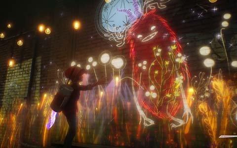 """描いたものに""""命""""を宿す少年・アッシュの物語―PS4「アッシュと魔法の筆」が発表"""