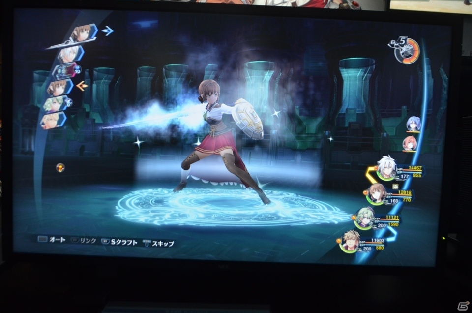 【TGS2018】「英雄伝説 閃の軌跡IV」TGS試遊版をクロウとデュバリィのパーティでプレイ!