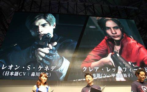 【TGS2018】完全新作とも呼べる、衝撃のゲームシーンの数々―「バイオハザード RE:2」ステージの模様をお届け!
