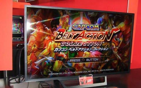 【TGS2018】「カプコン ベルトアクション コレクション」プレイインプレッション