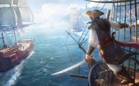 大航海時代のヨーロッパを自由に冒険できるスマホアプリ「大航海ユートピア」が2018年冬に配信!