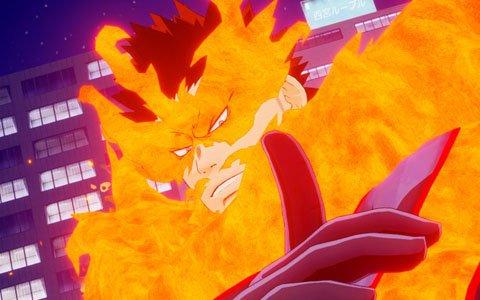 「僕のヒーローアカデミア One's Justice」DLC第2弾が配信!プレイアブルキャラクターに「エンデヴァー」が追加!