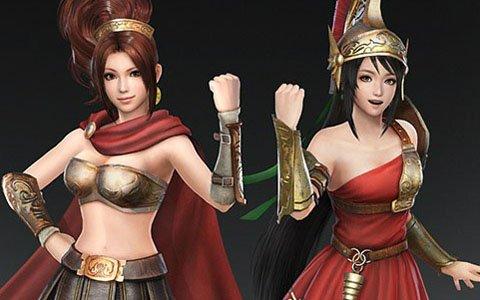「無双OROCHI3」DLC第3弾は甲斐姫、関銀屏の特別衣装が登場!