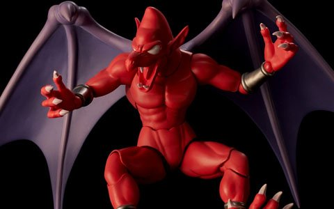 「魔界村」より誰もが悩まされた宿敵「レッドアリーマー」のアクションフィギュアが登場!