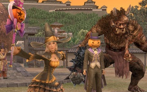 「信長の野望Online」にて「キラッ☆と変身!戦国ハロウィン祭り」が開催!冬の帰参者キャンペーンも