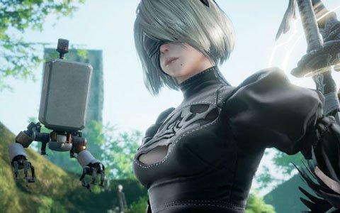 「ソウルキャリバーVI」と「NieR:Automata」がコラボ!有料DLC2弾キャラクターとして「2B」が参戦