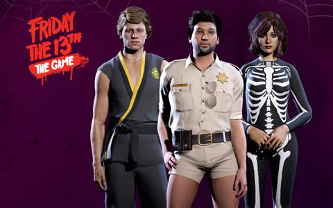 「フライデー・ザ・13th:ザ・ゲーム」ナツメアタリへ移管を発表―「ハロウィン コスプレセット」の無料配布が開始