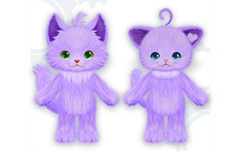 Switch版「ネコ・トモ」本日発売!「グレープジュースカラー」が手に入るあいことばが公開