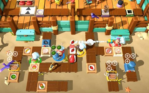 「Overcooked 2」などTeam17の最新3タイトルがPS4にて配信決定!