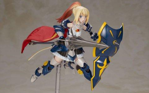 「装甲娘」よりプラモデルが発売決定!第一弾は「LBCS:アキレス ミカヅキカリナ」
