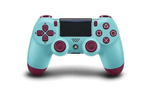 PS4用ワイヤレスコントローラー(DUALSHOCK4)のゲオ限定カラー「ベリー・ブルー」の予約受付が開始