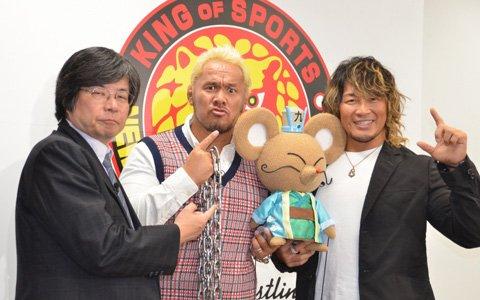 新日本プロレスの棚橋選手、真壁選手がゲーム内キャラクターとして登場決定!「九州三国志」発表会をレポート