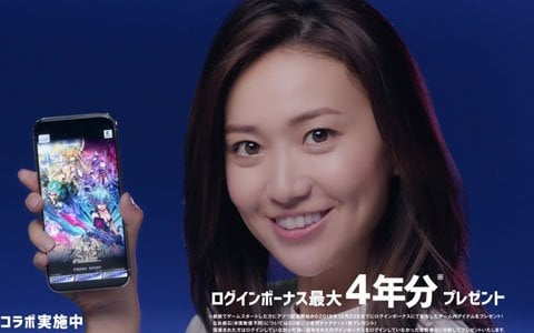 「ファントム オブ キル」全国3都市の街頭ビジョンなどで大島優子さん出演の4周年記念CMやアニメコラボCMが放映中