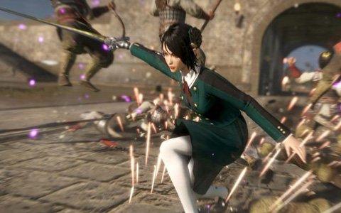 「真・三國無双8」追加DLC第2弾の配信スタート!女子高生風など女性キャラクター4名のコスチュームが登場
