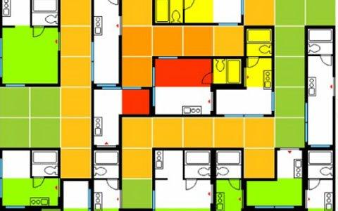 間取りの形のブロックを繋げるバカゲーパズル「マドリスR」がSwitchにて発売!配信を記念したセールキャンペーンも