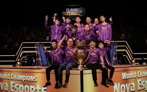 中国代表・Nova Esportsが初の世界チャンピオンに輝いた「クラロワリーグ 世界一決定戦2018」オフィシャルレポートが
