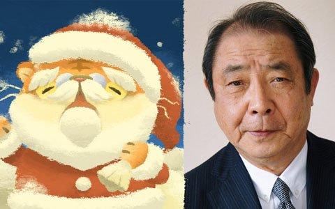 「猫のニャッホ」で俳優の平泉成さんが演じる猫のサンタクロースが12月中旬に登場!