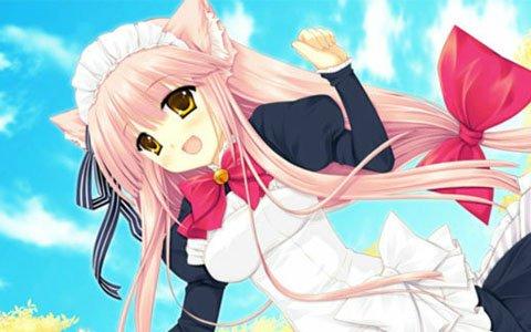 哲学的世界観と萌え系美少女が融和した摩訶不思議な美少女ADV「猫撫ディストーション」がAndroid向けに配信