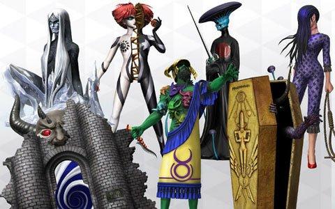 「D×2 真・女神転生リベレーション」新種族「死神」よりモト、ネルガルなど7体の悪魔が登場!