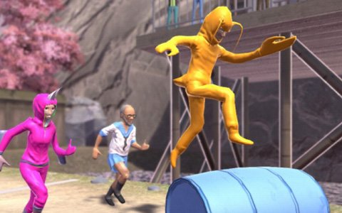コースもキャラクターもクレイジーなレースゲーム「ニッポンマラソン」配信開始!