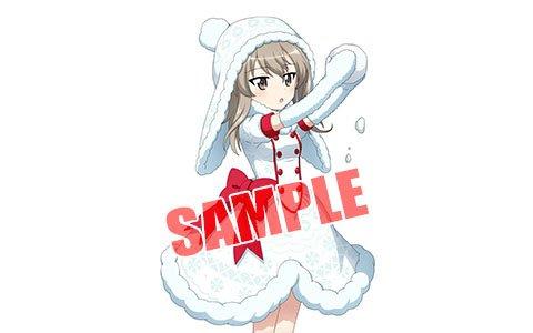 「ガールズ&パンツァー 戦車道大作戦!」クリスマス衣装姿のアズミ、島田愛里寿、メグミが登場!公式戦が開催